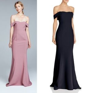 Likely Bartolli Navy Gown
